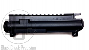 Stripped A3 Flat Top Upper Receiver -  Anodized Black, Marked 7.62 x 39mm