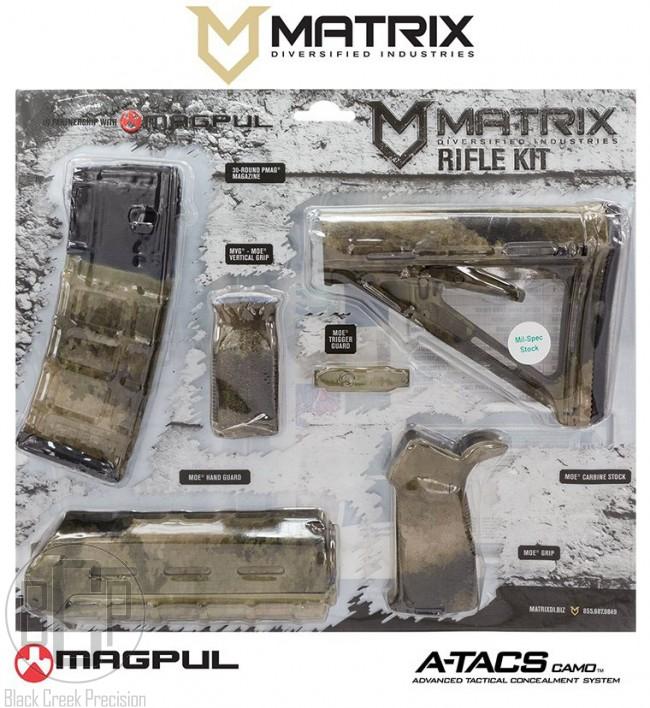 MDI / Magpul AR 15 Polymer Furniture Kit High Desert
