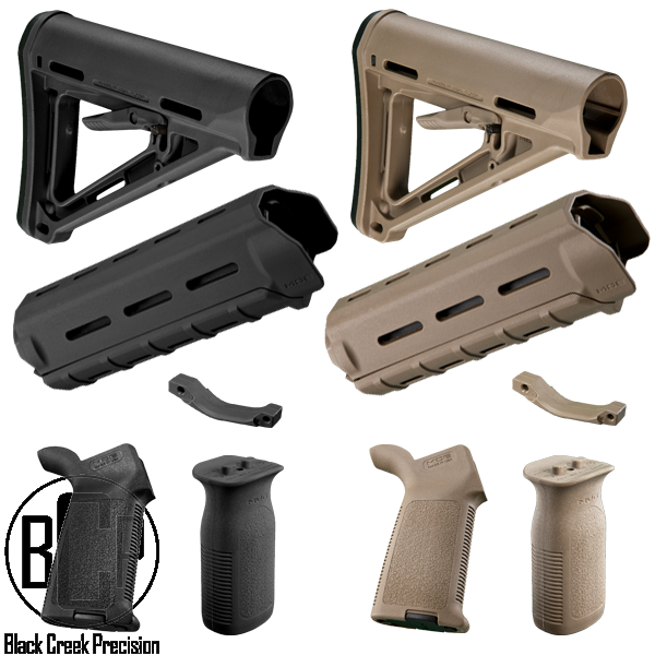 Magpul Moe Ar 15 Polymer Furniture Kit Black