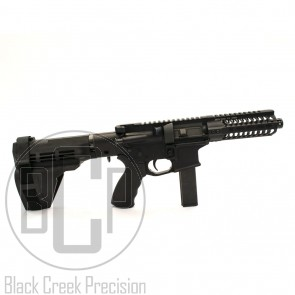 "BCP 6.75""  9mm Pistol with 5.5"" Odin Works KMod Rail"