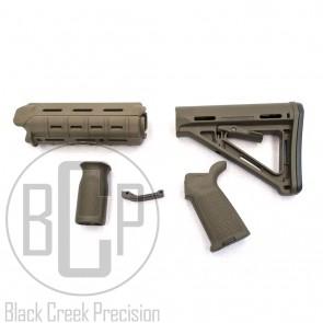 Magpul MOE AR-15 Polymer Furniture Kit - OD Green