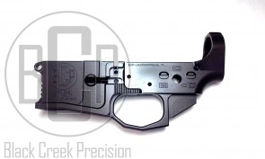 Black Creek Precision Model B15 5.56 Billet Lower Receiver