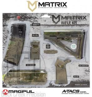 MDI / Magpul AR-15 Polymer Furniture Kit A-TACS FG